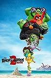 65Tdfc - Puzzle 1000 Piezas Adultos Jigsaw Puzzle - Angry Birds Movie - Personajes Diy Kit Juguete Madera Juegos Interactivos Familiares Niños Regalo Único Decoración Hogar