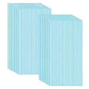 Naizy - 14 placas alveolares de cámaras huecas de policarbonato, 4 mm de diámetro, 10,25 m2, placa de doble puente para invernadero, placas de repuesto (60,5 x 121 cm), azul