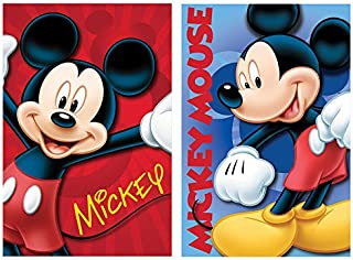 New Import NI-720-256 Manta Polar con Diseño Mickey Mouse, 30x12x12 cm
