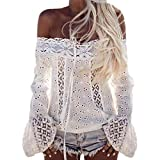 MENAB Damenoberteile Summer Chic Lace Hollow Out...