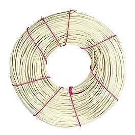 Rayher rotin, 1A Ruban Rouge Qualité, 1, rouleau 125g, rotin, beige, Rotin, beige, 1,4 mm