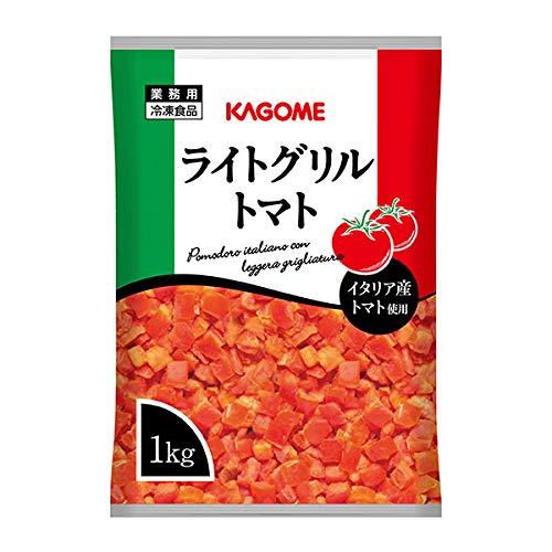 カゴメ イタリア産 ライトグリルトマト 冷凍 1kg
