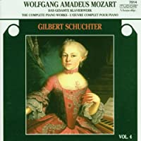 Mozart: Complete Piano Works 4