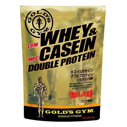 7位 THINKフィットネス『GOLD's GYM(ゴールドジム) WHEY&CASEINE DOUBLEPROTEIN』