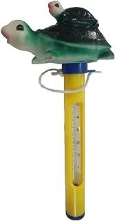 Termômetro de piscina flutuante Homyl Tamanho grande com corda, para piscinas ao ar livre/interior