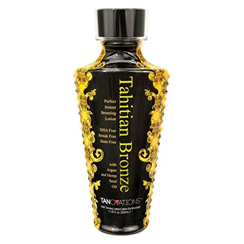 Tahitian Bronze Tanovations Ed Hardy DHA Free Tanning lotion 11 oz