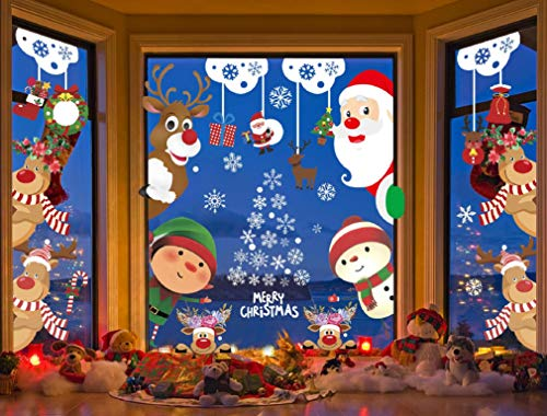 Adhesivos Navidad Ventana Marca Voqeen