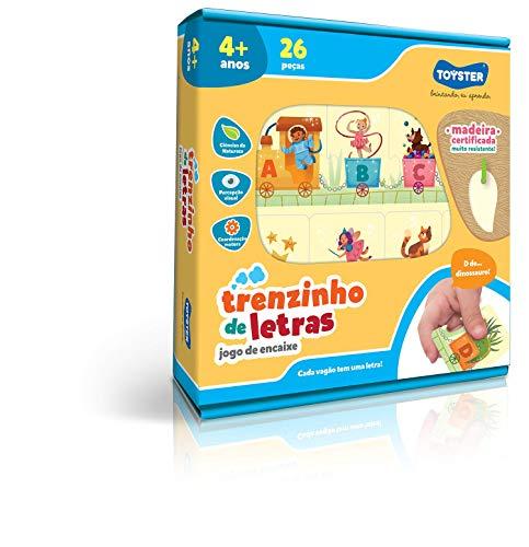 Trenzinho de Letras Toyster Brinquedos