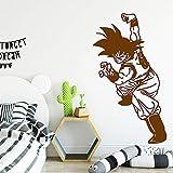 zhuziji Dragonball Goku Vinyl Wandaufkleber Wohnkultur Aufkleber Für Wohnzimmer Schlafzimmer Dekor...