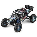 DBXMFZW 1/10 Scale Off-Road Control Remoto Model Modelo de juguete, 4WD eléctrico 4WD de alta velocidad RC vehículo RC Cars que se bloquean y resistentes a la caída, los coches RC con amortiguadores i