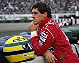 A4 'AYRTON SENNA' POSTER PRINT, DISPATCHED WITHIN 24 HOURS