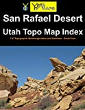 San Rafael Desert Utah Topo Map Index: 7.5  Topographic Quadrangle Atlas and Gazetteer - Small Print