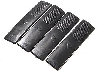 Alamor 4 stuks dak-rail clip rack vorm afdekking vervanging zwart voor Mazda 2 3 5 6 Cx7