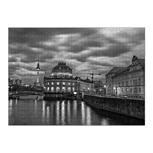 artboxONE Ravensburger-Puzzle XL (1000 Teile) Städte / Berlin Museumsinsel - Puzzle Berlin deutsch Deutschland