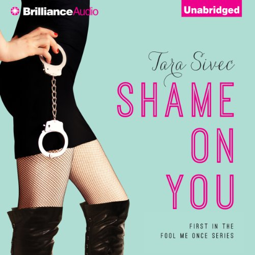 Shame on You audiobook cover art