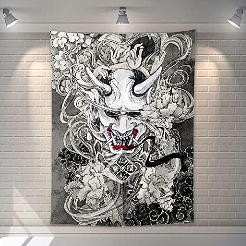 XGguo Tienda de Tatuajes Tela Colgante Creativa Personalizada.