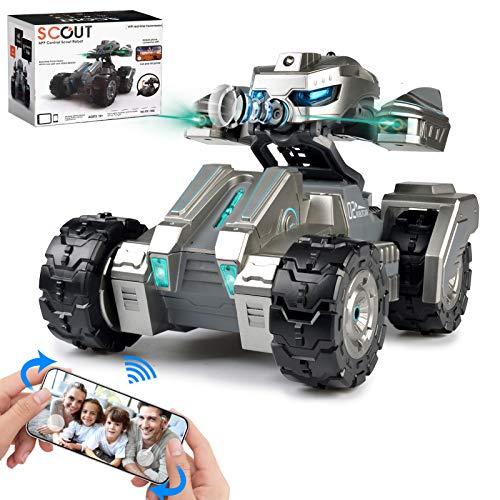RC Car Remote Control Car Gravity Sensor Rc Truck, 720P HD FPV Camera Robot Car, Versus Mode Rock Crawler Car for Kids Adults