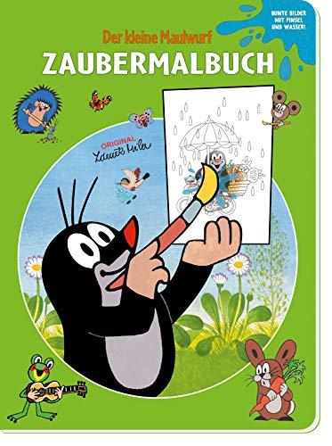Trötsch Der kleine Maulwurf Zaubermalbuch: Malbuch Ausmalbuch