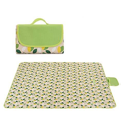 Y-RD Picknickdecke Extra Large Strandmatte mit wasserdichter Unterlage Anti Sand, Picknick-Decke, Faltbare Strandmatte for Picknick, Camping, Wandern & Picknick (Color : Style f, Size : L)