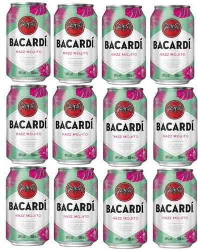 12 Dosen Bacardi Razz Mojito 10% vol. a 0,33 L EINWEG Pfand 3 € Pfand