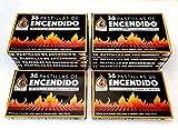 ASGRADO 12 Caja 432 Pastillas de Encendido Chimenea, Estufas y Barbacoas,Firelighters
