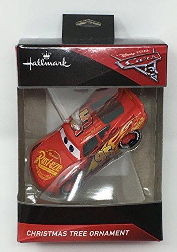 Hallmark Disney Pixar Cars 3 - Lightning McQueen Christmas Tree Ornament 2017