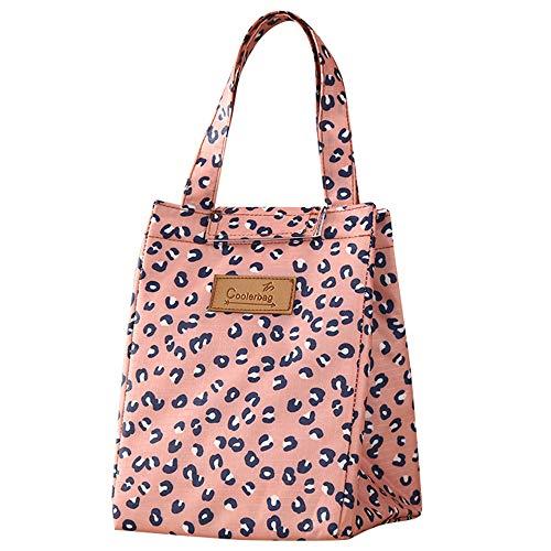 Serria Sac à Lunch Sac Repas Isotherme Fourr-Tout Lunch Bag Portable - Sac Fraicheur pour Déjeuner/Pique-Nique/Enfant/Travail/Fille/Picnic/École/Femmes
