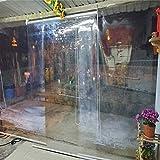 Persianas enrollables Estores Cortina Enrollable Transparente Impermeable para Exteriores, Interior, Pérgola de Cenador, Transparentes/Pantalla, 60/80/100/120/140 cm de Ancho (Size : 80×200cm/W×H)