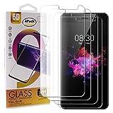 Guran 4 Paquete Cristal Templado Protector de Pantalla para TP-Link Neffos X1 Lite Smartphone 9H Dureza Anti-Ara?azos Alta Definicion Transparente Película