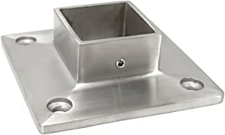 Stainless Steel 316 Grade Floor or Wall Base Flange for 1-1/2