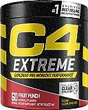 C4 Extreme Pre Workout Powder Fruit Punch | Preworkout...