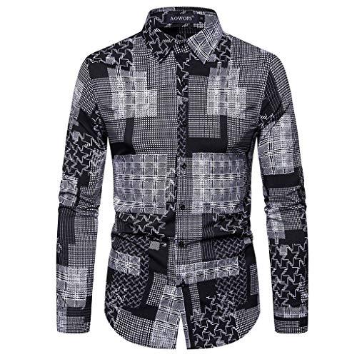 Ladud FGXK/_1 Vintage Map Time Gem Camisa de Hombre Traje Gemelos Personalizados Regalos de Empresa Bronce Mens One Size