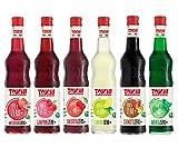 Drink Zero + Toschi 560 ml NUOVI GUSTI, Sciroppo Senza Zucchero nei gusti: Amarena, Menta, Limone, Lampone, Melograno e Chinotto.
