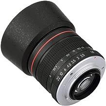 Lightdow 85mm F/1.8 Medium Telephoto Portrait Prime Manual Focus Full Frame Lens for Nikon D850, D810, D800, D750, D700, D610, D300, D3100, D3200, D3300, D3400, D5100, D5200, D5300, D5500, D5600 etc