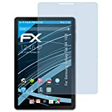 atFolix Schutzfolie kompatibel mit Samsung Galaxy Tab S4 10.5 Folie, ultraklare FX Bildschirmschutzfolie (2X)
