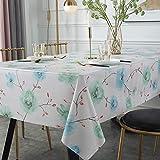 WHDJ PVC Tischdecken, Bauernhausstil No Fade Tischdecke für Esszimmer und Arbeitszimmer...