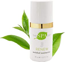Natural & Organic Skin Care - The Spa Dr.: Step 3 Renew - Enriched Moisturizer - Anti Aging Skin Care - 30 Day Supply - Safe For All Skin Types - Perfectly pH Balanced