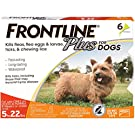 Frontline Plus Flea and Tick Treatment for Small Dogs (5-22 Pounds)