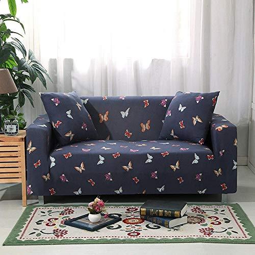 Funda de Sofá,Funda de sofá de jacquard de algodón, funda de cojín de sofá antideslizante de cubierta completa, funda a prueba de polvo para muebles en primavera, verano, otoño e invierno-Dreamland_1