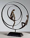 CASABLANCA Sculpture «Patience», en Bronze, 34x41cm