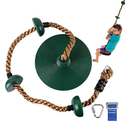 Gentle Booms Sports Outdoor Climbing Rope, Children Kids Daily Sports Outdoor Backyard & Playground Equipment for Ninja Line,Ninja Warrior Style Obstacle Courses