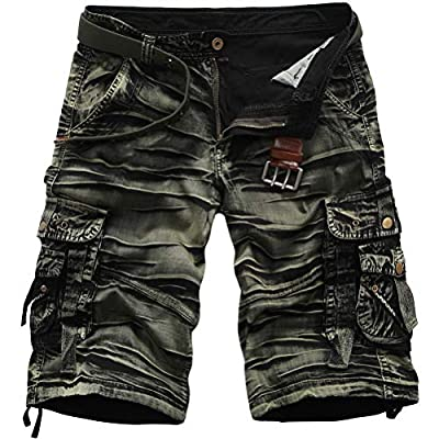 ROBO Pantalones Cargo Cortos