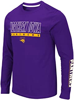 Colosseum Mens UNI Northern Iowa Panthers Guam Long Sleeve Tee Shirt