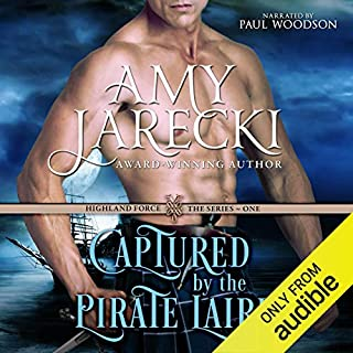 Captured by the Pirate Laird audiobook cover art