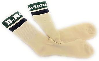 Dr. Martens Men's Ankle Socks White cream