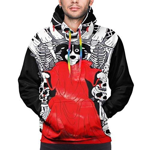 EYSKJ Hoodie Capucha Mr Pickles Men's Pullover Sudadera Fashion Sweatshirt 3D Printed Hooded with Pocket
