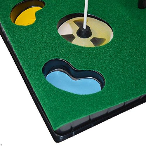 PGA TOUR Indoor Putting Set – Putting Matte mit Putter - 7