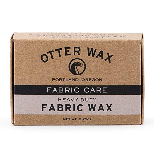 Otter Wax Fabric & Canvas Wax | Regular Bar | All-Natural Water Repellent | Made in USA