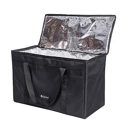 DELEBAO Kühltasche Groß Lunchtasche Reisenthel Coolerbag Picknicktasche Kühltasche Faltbar Thermotasche Kühltasche Mittagessen Tasche Isoliertasche 56L