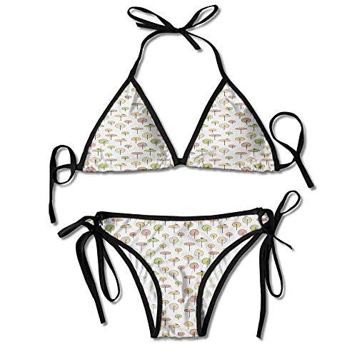 Sdltkhy Damen Zweiteiler Bikini Desiree Bikini Top Bikini Sets Badeanzug